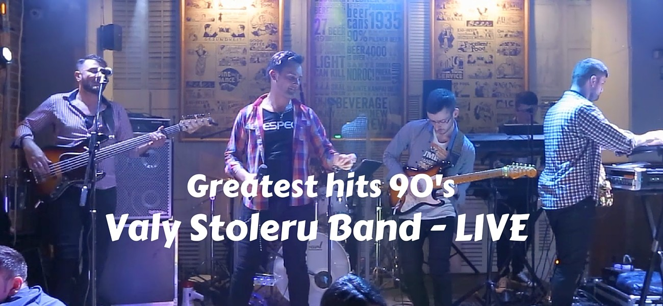 Greatest hits 90's – Valy Stoleru Band – LIVE